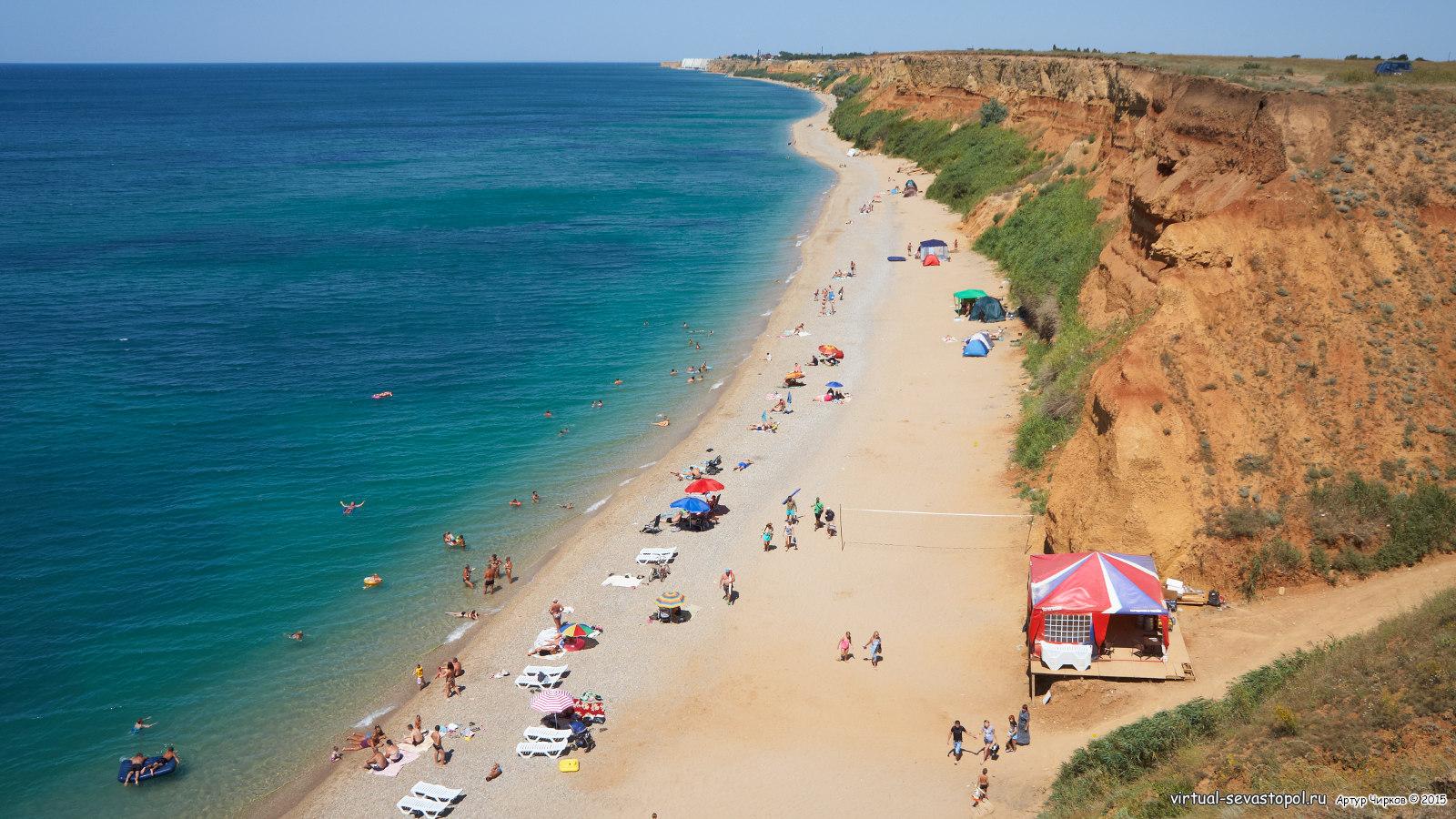 севастополь фото пляжей и набережной